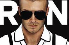 David Beckham en la Revista Arena (Dic)