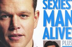 Matt Damon es el hombre mas sexy (People Magazine)