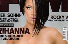 El destape de Rihanna en FHM es un montaje