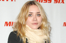 Ashley Olsen en el Miss Sixty Fashion Show