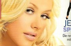 Christina Aguilera y su hijo Max en OK [Alemania]