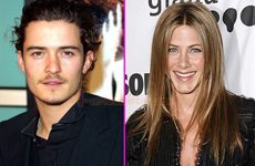 Jennifer Aniston y Orlando Bloom son realmente pareja?