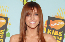 Ashlee Simpson en los Kids Choice Awards 2008