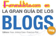 Farandulista en La Gran Guia de Los Blogs 2008
