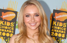Hayden Panettiere en los Kids Choice Awards 2008