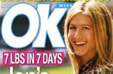 La dieta magica de Jenn Aniston: 3 kg en 7 dias - Sunday Gossip Links