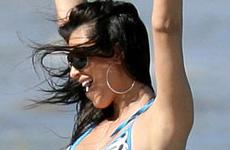 "Kim Kardashian en bikini deja ver su ""behind"" sin photoshop"