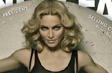 Madonna en la portada de Vanity Fair [Green Issue]