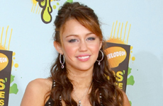 Miley Cyrus en los Kids Choice Awards 2008