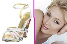 Modelos de la nueva coleccion de zapatos de Paris Hilton