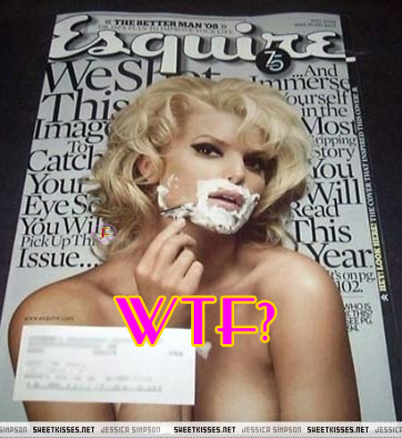 Jessica simpson esquire thought differently