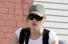 Kate Winslet en bici con su hijo en New York