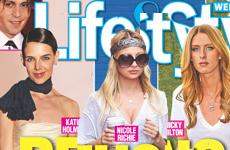 Katie Holmes, Nicole Richie y Nicky Hilton no comen [Life&Style]