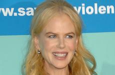 A Nicole Kidman finalmente se le ve la barriguita
