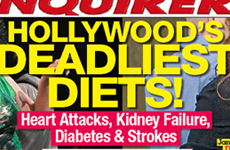 Las Dietas Mortales de Hollywood - Sunday Gossip Links