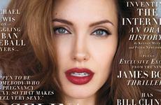 Angelina Jolie sin CENSURA en Vanity Fair [Julio]
