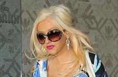 Christina Aguilera ya no es glamorosa