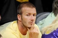 Farandulistas, Caption this: David Beckham - Ganadores