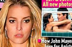 Jessica se embriaga el dia que Jen y Mayer hacen publica su relacion