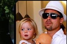 Brad, Becks y Johhny los Padres mas HOT de Hollywood
