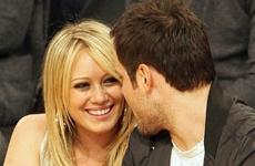 Hilary Duff y su novio en el Juego de los Lakers - Final NBA