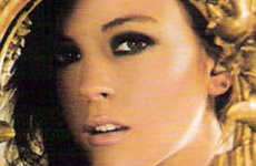 Lindsay Lohan en Arena magazine