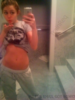 Miley Cyrus es una chica traviesa