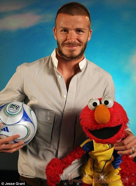 David Beckham estrella invitada de Plaza Sesamo