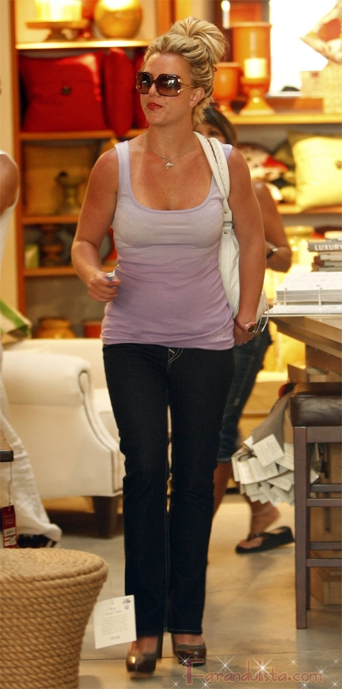 britney spears and her mother shopping in hollywood 01