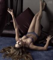 Eva Mendes en ropa interior para Calvin Klein