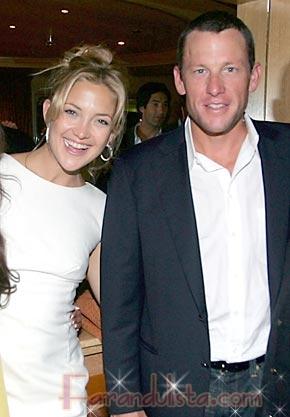 Kate Hudson y Lance Armstrong terminaron