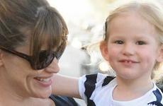 Jennifer Garner y Violet puro sonrisas