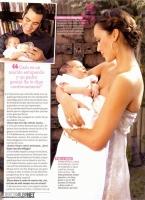 Jessica Alba y Cash Warren con su hija Honor