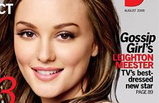 Leighton Meester (Gossip Gir) en Lucky magazine [Agosto]