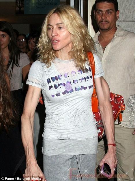 55f0299dd WTF? Madonna parece extraterrestre!! | Farandulista
