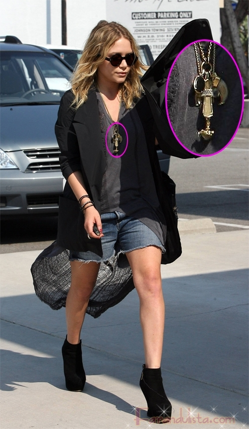 Mary Kate Olsen ama los zapatos FUG