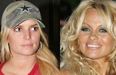 Pamela Anderson llama Biatch a Jessica Simpson