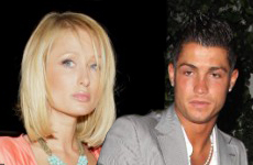 Paris Hilton es rechazada por Cristiano Ronaldo