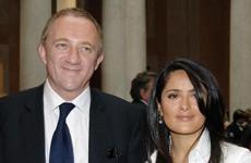 Salma Hayek cancela su compromiso con Henri Pinault