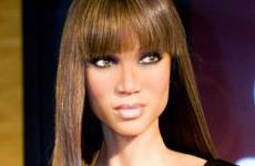 Tyra Banks en el Madamme Tussauds