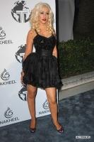 Christina Aguilera en la fiesta Trump Hotel & Tower Dubai