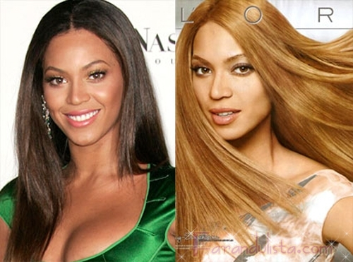 L'Oreál dice que esa rubia es Beyonce