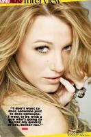 Gossip Girl Blake Lively en Cosmopolitan [Sept]