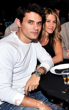 Jennifer Aniston y John Mayer terminaron?