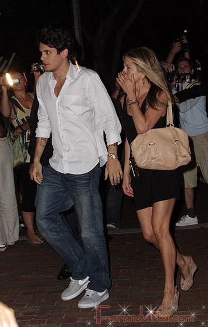 John Mayer habla sobre Jennifer Aniston