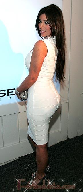Kim Kardashian quiere perder peso en el trasero