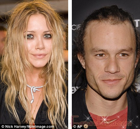 Mary Kate Olsen nada que ver con las drogas de Heath