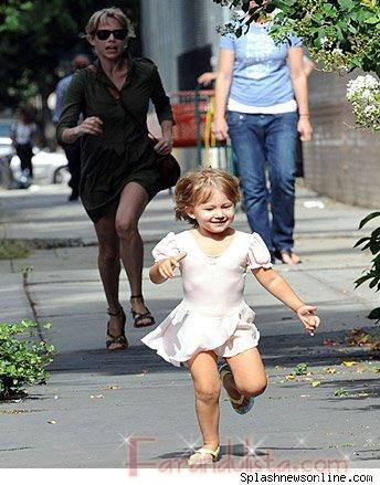 Matilda hizo correr a su mami Michelle