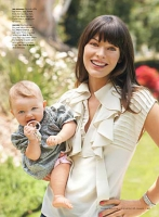 Milla Jovovich y su hija Ever en Cookie magazine