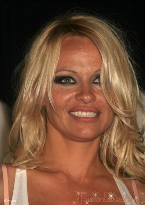 Pamela Anderson no quiere close-ups de su rostro